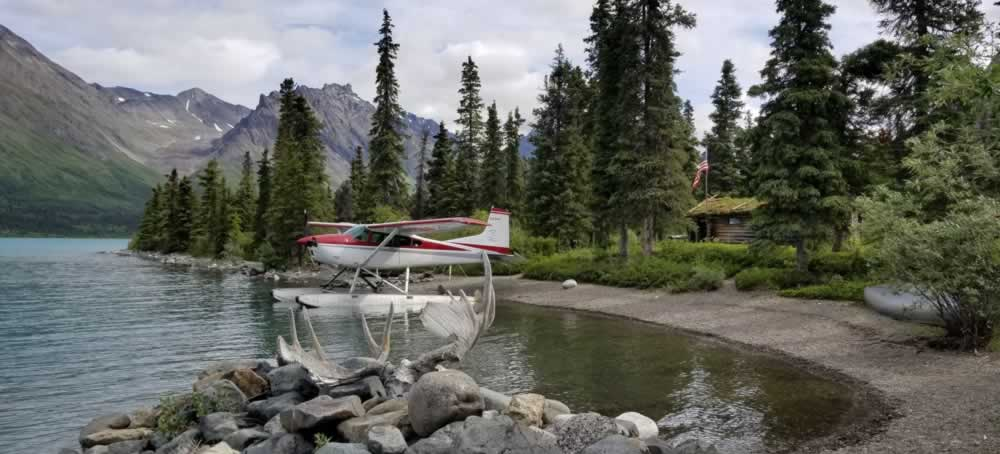 Home Page Header - Home of Airventures-Anchorage Alaska-Moose, Bears and Salmon Fishing by Plane